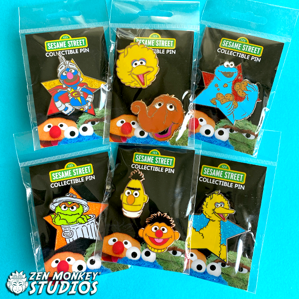 Stay Safe Sale:  Sesame Street- Best Pals and Star Series:  (6 Available)