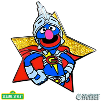 Star Series: Super Grover - Sesame Street Pin