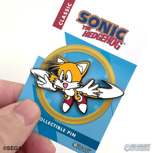 Flying Tails: Classic Sonic The Hedgehog Collectible Pin