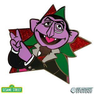 Star Series: The Count -  Sesame Street Pin