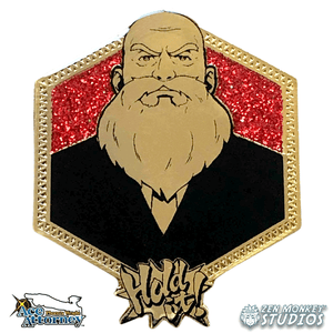 Golden Judge: 1st Edition Ace Attorney Pin