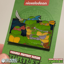 Load image into Gallery viewer, TMNT Theme Song Series Pin Bundle