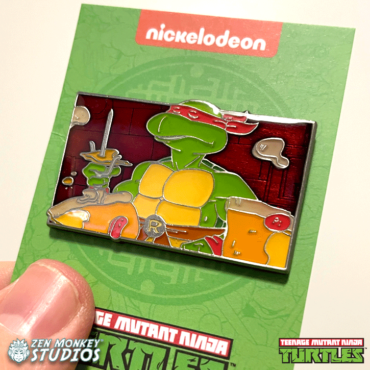 Raphael is Cool, But Crude: TMNT Collectible Enamel Pin