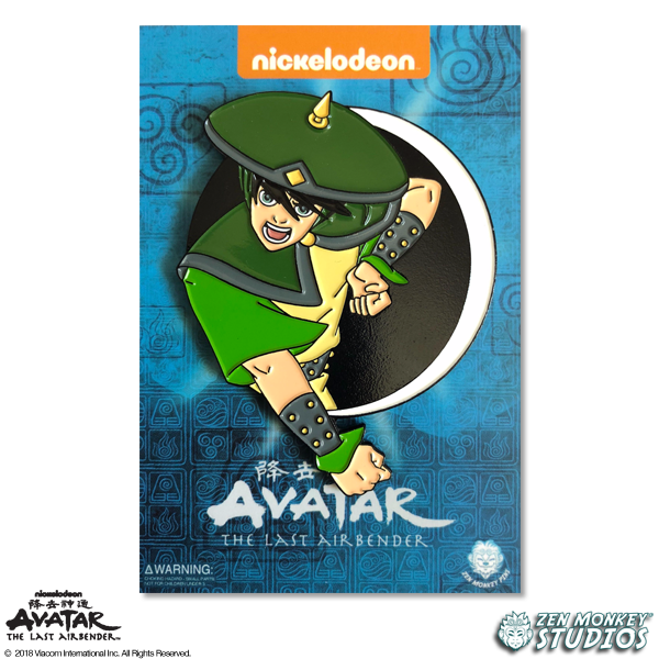 Toph - Avatar's Day Of Black Sun Pin