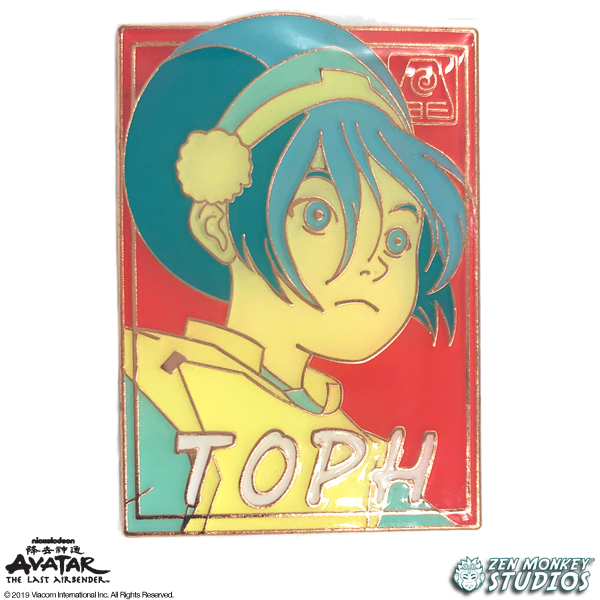 Pastel Toph - Avatar: The Last Airbender Pin
