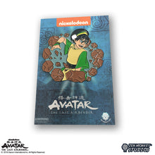 Load image into Gallery viewer, Earthbending Toph - Avatar: The Last Airbender Pin