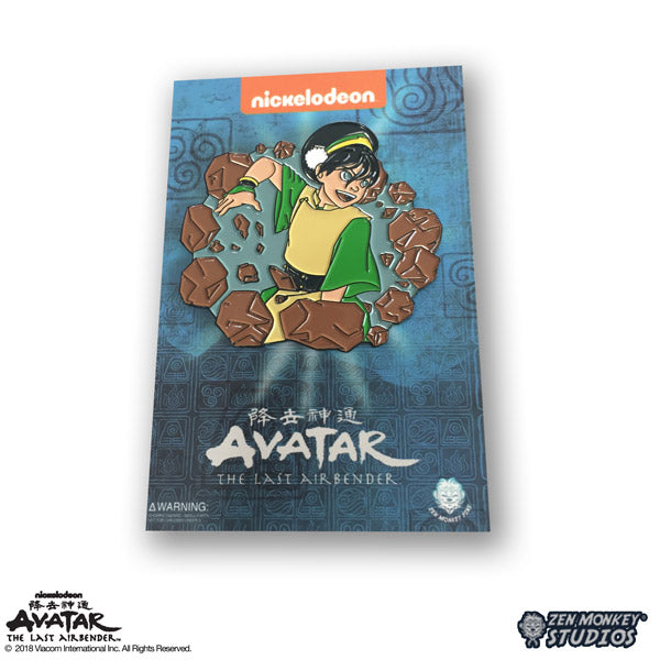 Earthbending Toph - Avatar: The Last Airbender Pin
