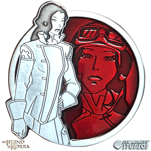Asami - Portrait Series (Translucent Pin): The Legend of Korra Pin