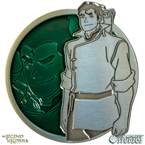 Bolin - Portrait Series (Translucent Pin): The Legend of Korra Pin
