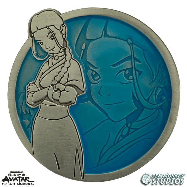 Katara - Portrait Series (Translucent Pin): Avatar The Last Airbender Pin