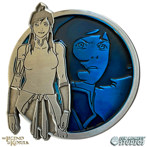 Korra - Portrait Series (Translucent Pin): The Legend of Korra Pin