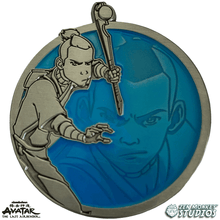 Load image into Gallery viewer, Sokka - Portrait Series (Translucent Pin): Avatar The Last Airbender Pin