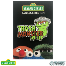 Load image into Gallery viewer, Trash Monster - Sesame Street Pin