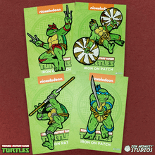 Load image into Gallery viewer, TMNT Patch Bundle: Cowabunga! 80s Patches