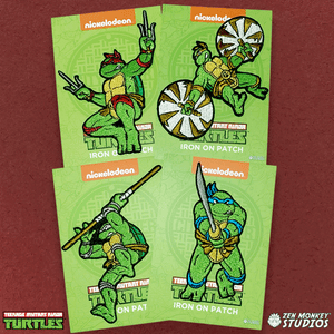 TMNT Patch Bundle: Cowabunga! 80s Patches