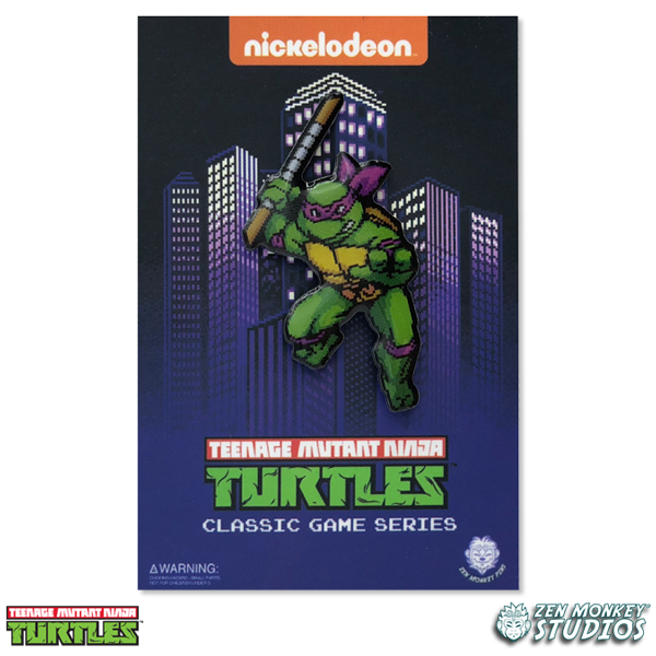 Character Select - Donatello - TMNT PIN