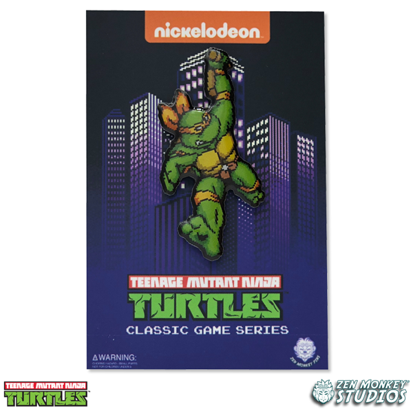 Character Select - Michelangleo - TMNT PIN