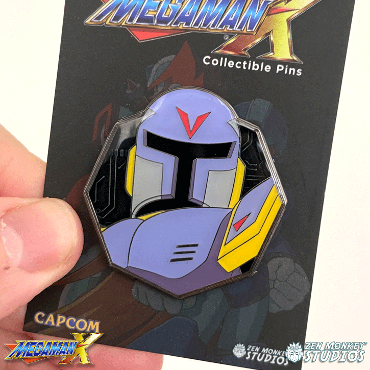 Vile's Circuit Board: Mega Man X Pin