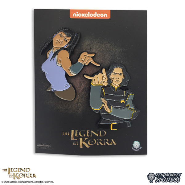 Watching You  - The Legend of Korra 2 Pin Set