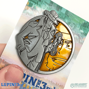Zenigata - Portrait Series (Translucent Pin): Lupin the Third Pin
