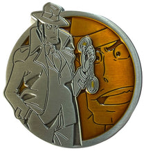 Load image into Gallery viewer, Zenigata - Portrait Series (Translucent Pin): Lupin the Third Pin
