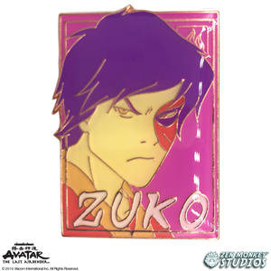 Pastel Zuko - Avatar: The Last Airbender Pin