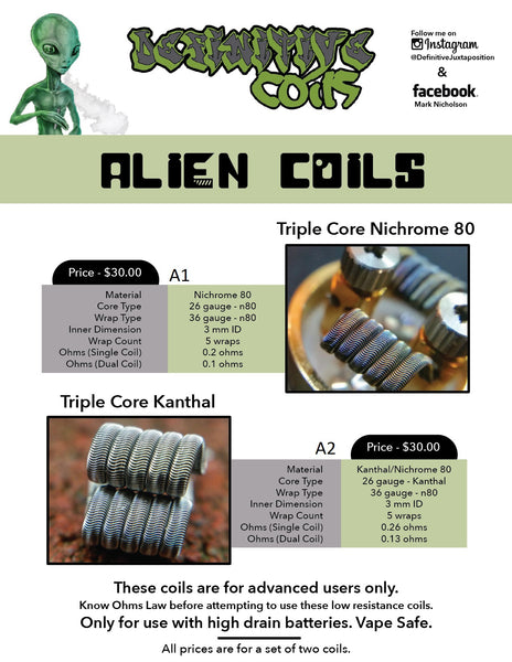 Triple Core Alien Coil