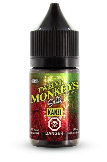 Twelve Monkeys - Salt Nic - Kanzi