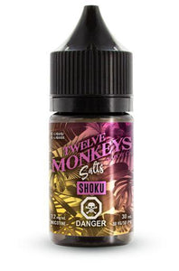 Twelve Monkeys - Salt Nic - Shoku
