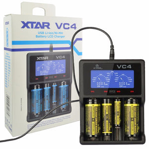 XTAR - VC4 Quad Battery Charger