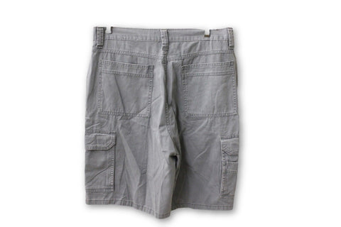 NT09 Supply Co Narragansett Traders Men's Gray Cargo Shorts NWT