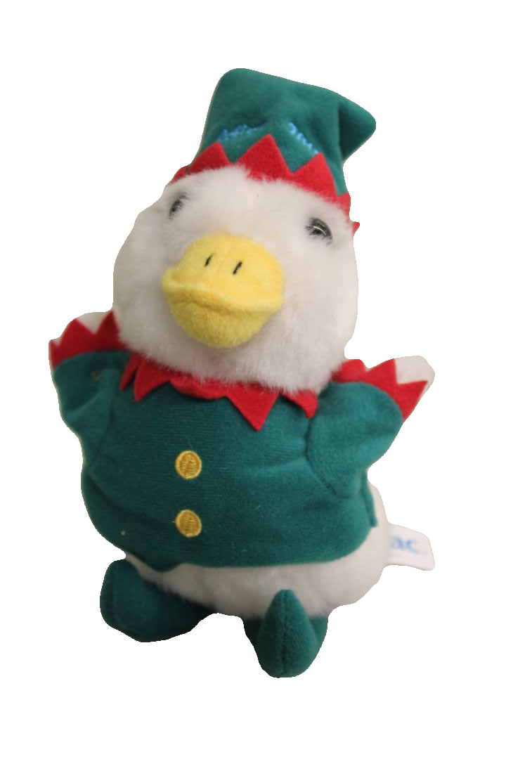 "Aflac 2015 6"" Holiday Plush Duck"