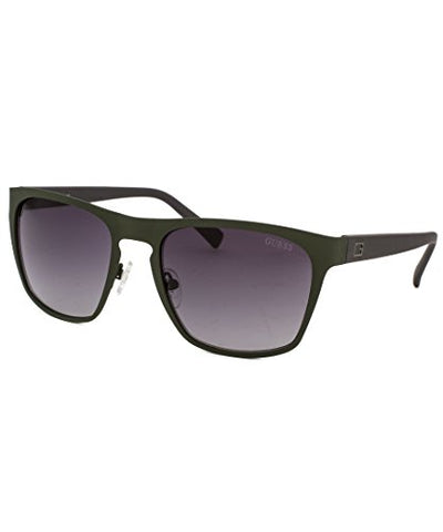GUESS Eyewear Square Sunglasses (Army Green)
