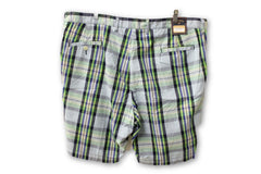Bill Khakis Men's Blue and Green Shorts Size 40 NWT