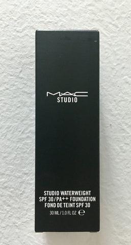 Mac Studio Waterweight Spf 30 Foundation NC44