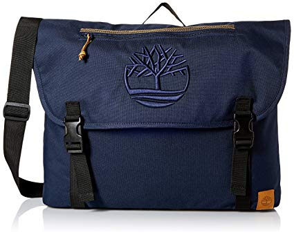 Timberland Navy Mendum Pond Nylon Messenger Bag