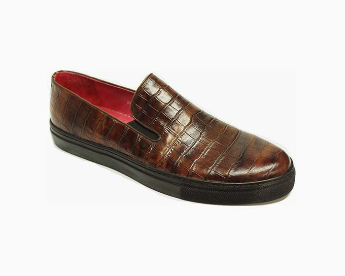 Bogosse Edward Textured Men's Loafer - Brown