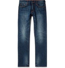 Jean Shop Men's Mick Slim-Fit Selvedge Denim Jeans, Size 31