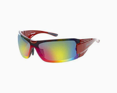 Harley-Davidson Women's Sun Bling Ruddy Red Shield Sunglasses HDS8003RD-83F