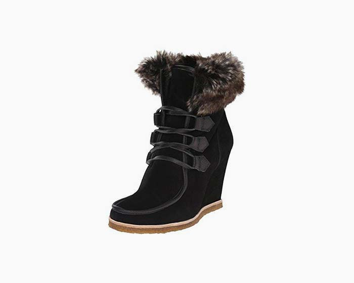 Splendid Women's Targan Boot, Black, 6 M US