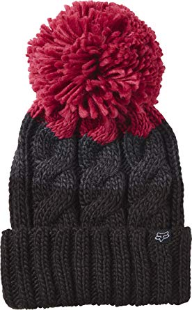 Fox Racing Womens Valence Beanie Hat One Size Burgundy