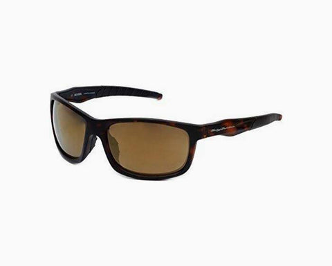 Harley-Davidson Official Designer Sunglasses HD0632S-52G in Tortoise Frame with Gold-Mirror Lens