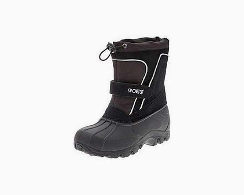 "Sporto Boys' ""Pac"" Cold Weather Boots, M(2-3), NWT, $55"