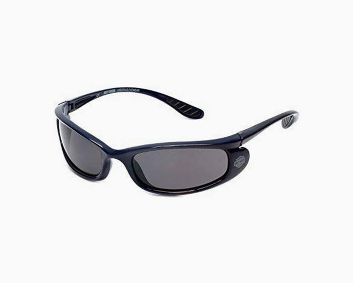 Harley-Davidson Official Designer Sunglasses HD0626S-90A in Navy Frame with Grey Lens