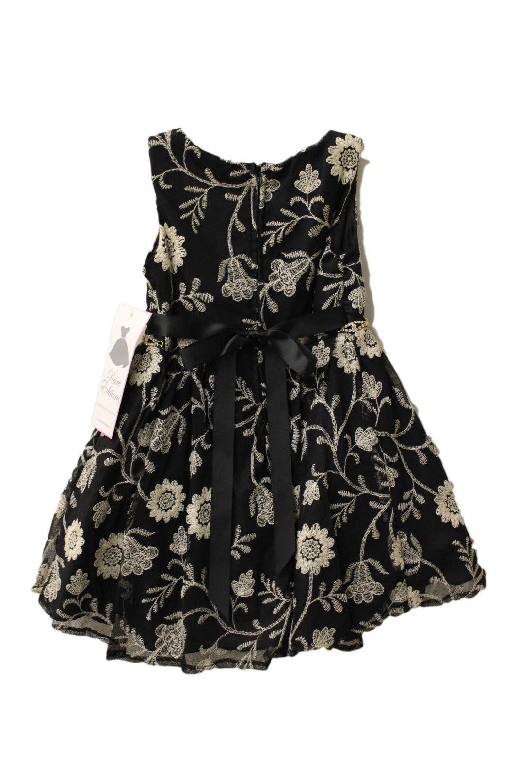 4b2c2ff5407 Rare Editions Girl s Embroidered Flower Dress NWT – Cheap Maggie s