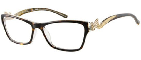 GUESS Eyeglasses GU 2246 Tortoise Clear 53MM