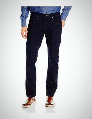 7 For All Mankind Men's Classic Indigo Straight Tapered Leg Jeans, Size 36