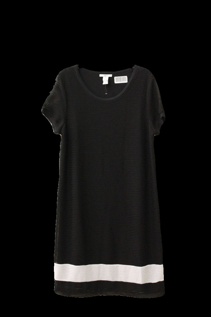 Bar III Womens Black and White Dress, Size M