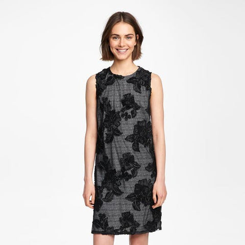 33e5dce1468 Karl Lagerfeld Women s Black Floral Lace Dress Size 2