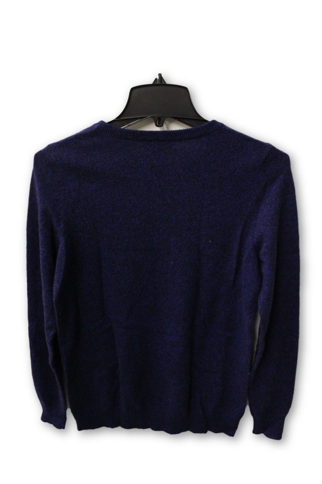 C by Bloomingdale's Women's Cashmere - Blue Crew Neck Sweater M NWT